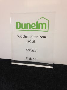 Supplier of the year 2016